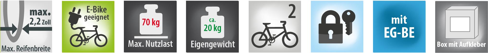Fahrradträger LUKE