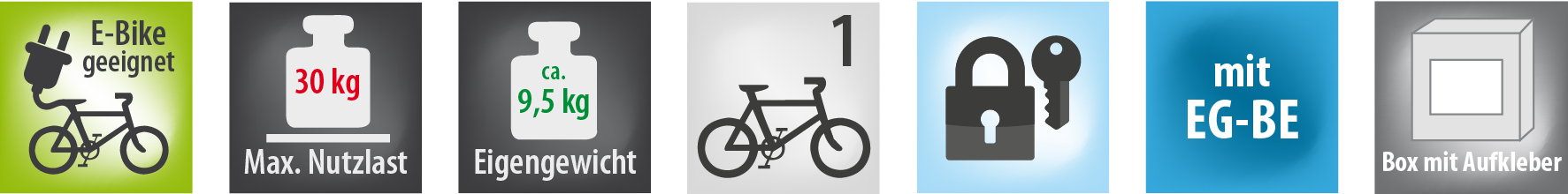 Fahrradträger AMBER 1