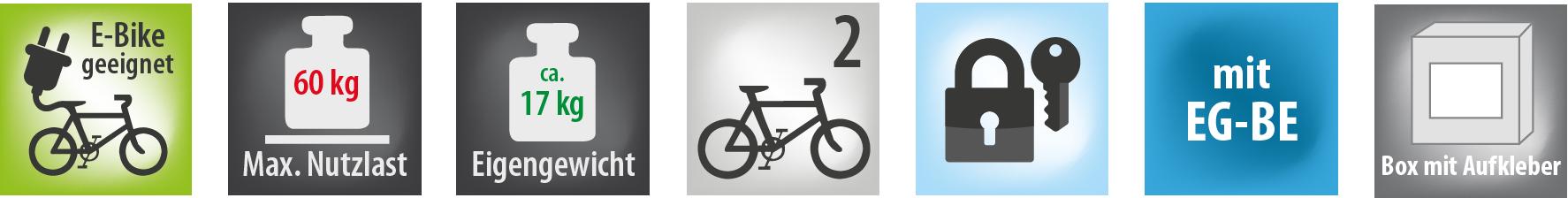 Fahrradtraeger PREMIUM TG