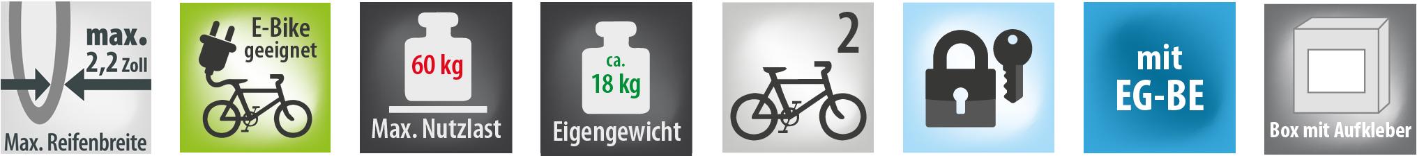Fahrradträger POKER-F