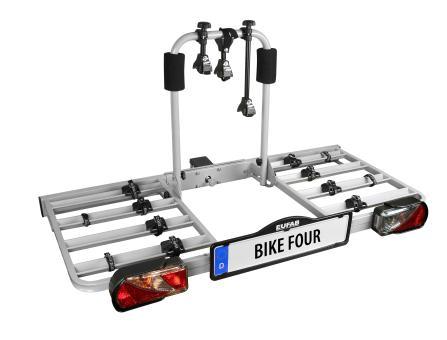 Fahrradträger BIKE FOUR für 4 Fahrräder
