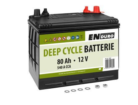 Bleibatterie 80Ah