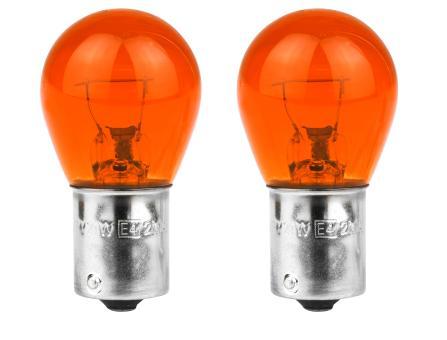 Glühlampe 12V 21W BAU15S orange