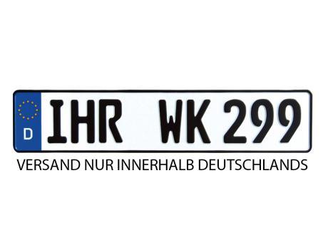Kennzeichen für KFZ
